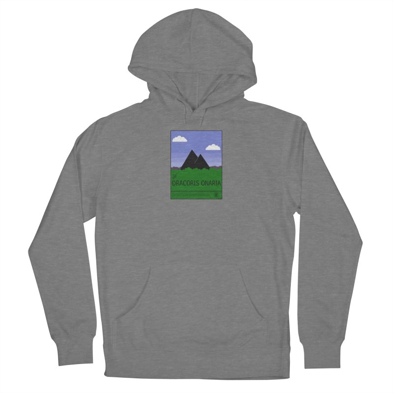 Travel Poster: Dracoris Onaria Men's French Terry Pullover Hoody by wchwriter's Artist Shop