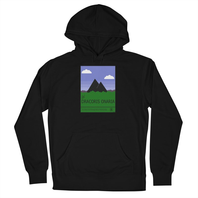 Travel Poster: Dracoris Onaria Women's French Terry Pullover Hoody by wchwriter's Artist Shop