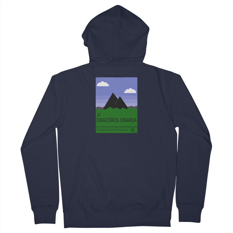 Travel Poster: Dracoris Onaria Women's French Terry Zip-Up Hoody by wchwriter's Artist Shop