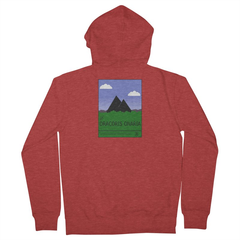 Travel Poster: Dracoris Onaria Men's French Terry Zip-Up Hoody by wchwriter's Artist Shop