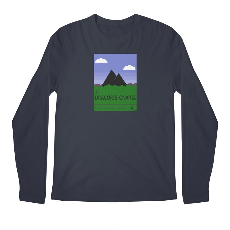 Travel Poster: Dracoris Onaria Men's Regular Longsleeve T-Shirt by wchwriter's Artist Shop