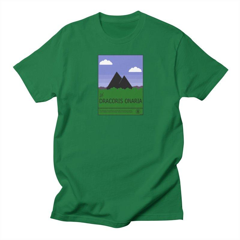 Travel Poster: Dracoris Onaria Women's Regular Unisex T-Shirt by wchwriter's Artist Shop