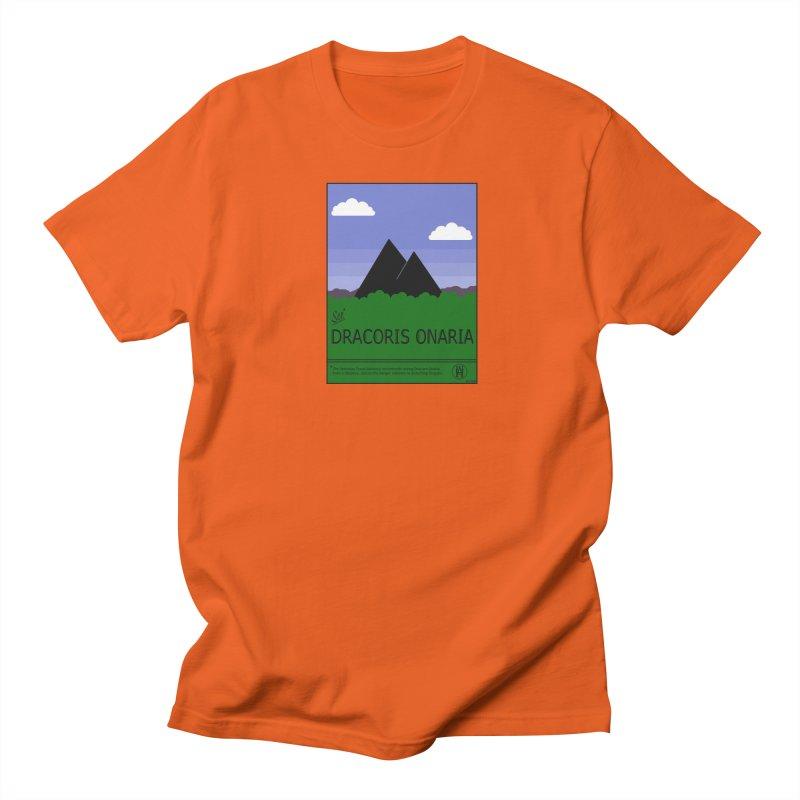 Travel Poster: Dracoris Onaria Men's Regular T-Shirt by wchwriter's Artist Shop