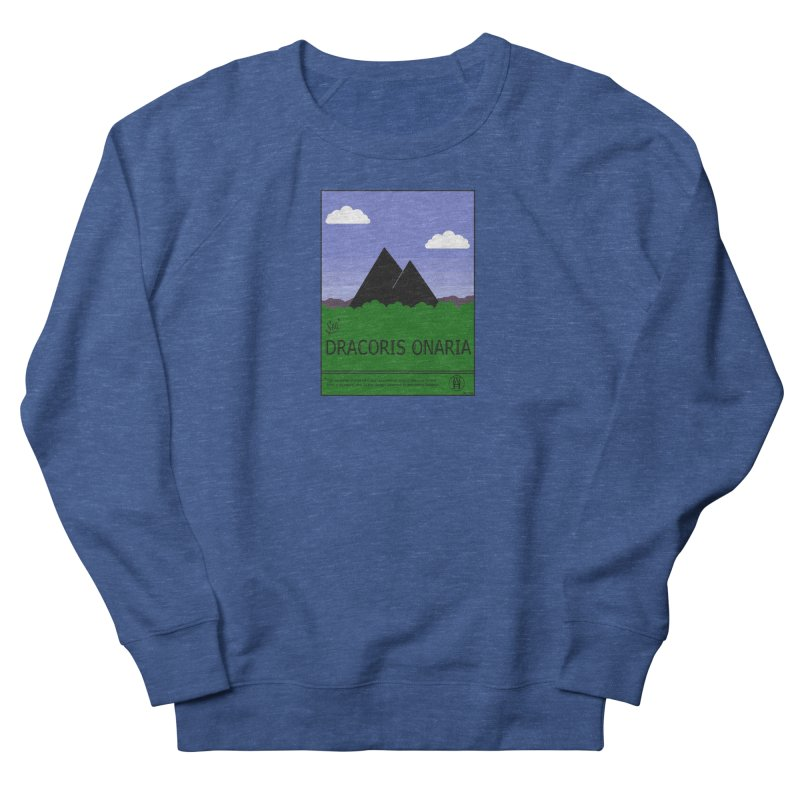 Travel Poster: Dracoris Onaria Women's French Terry Sweatshirt by wchwriter's Artist Shop