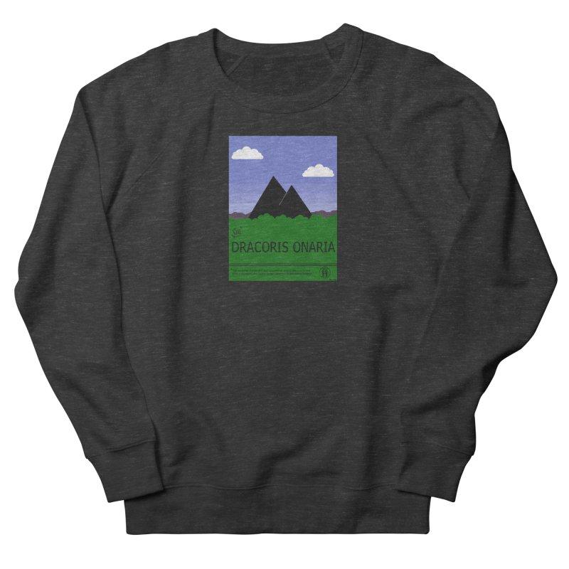 Travel Poster: Dracoris Onaria Men's French Terry Sweatshirt by wchwriter's Artist Shop