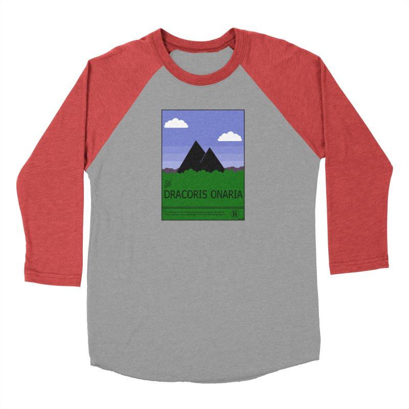 Travel Poster: Dracoris Onaria Women's Baseball Triblend Longsleeve T-Shirt by wchwriter's Artist Shop