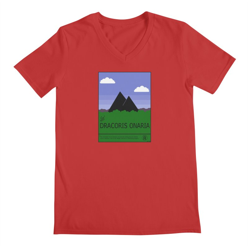 Travel Poster: Dracoris Onaria Men's Regular V-Neck by wchwriter's Artist Shop