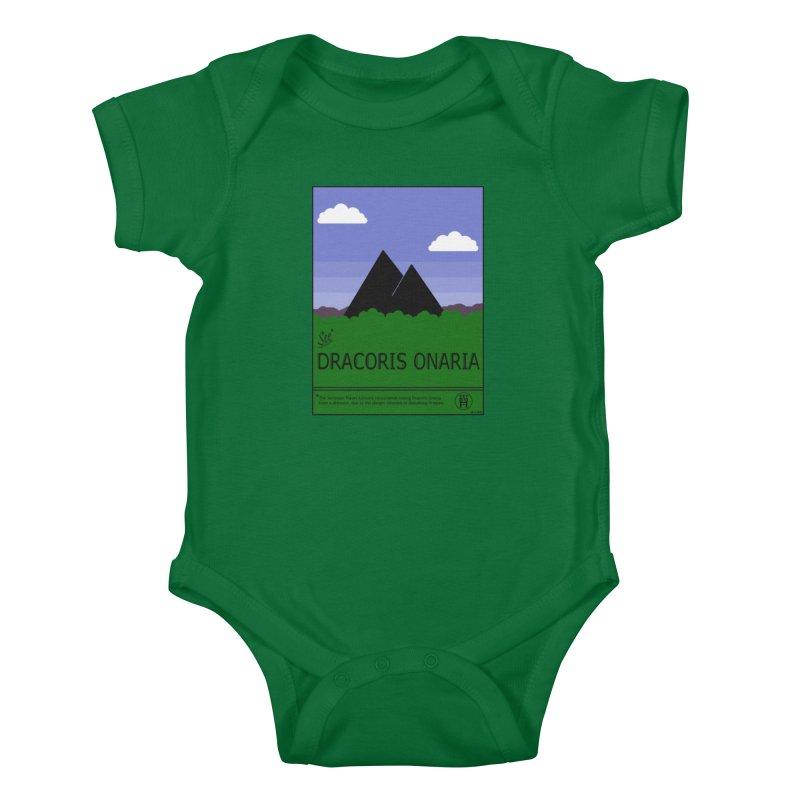 Travel Poster: Dracoris Onaria Kids Baby Bodysuit by wchwriter's Artist Shop