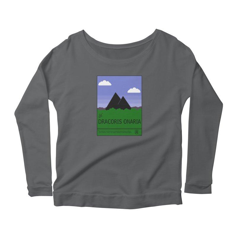 Travel Poster: Dracoris Onaria Women's Longsleeve T-Shirt by wchwriter's Artist Shop