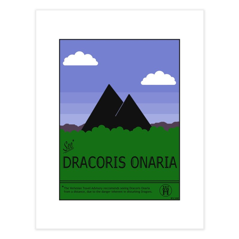 Travel Poster: Dracoris Onaria Home Fine Art Print by wchwriter's Artist Shop