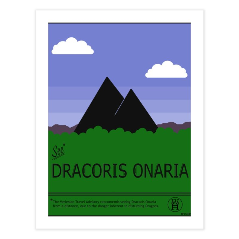 Travel Poster: Dracoris Onaria Home Fine Art Print by wchwriter's Artist Shop
