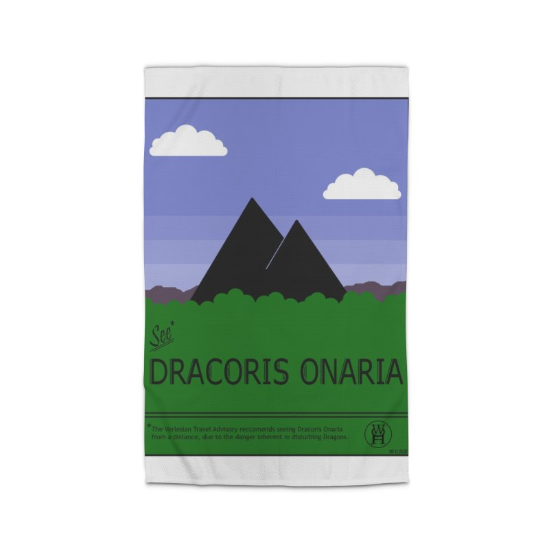 Travel Poster: Dracoris Onaria Home Rug by wchwriter's Artist Shop