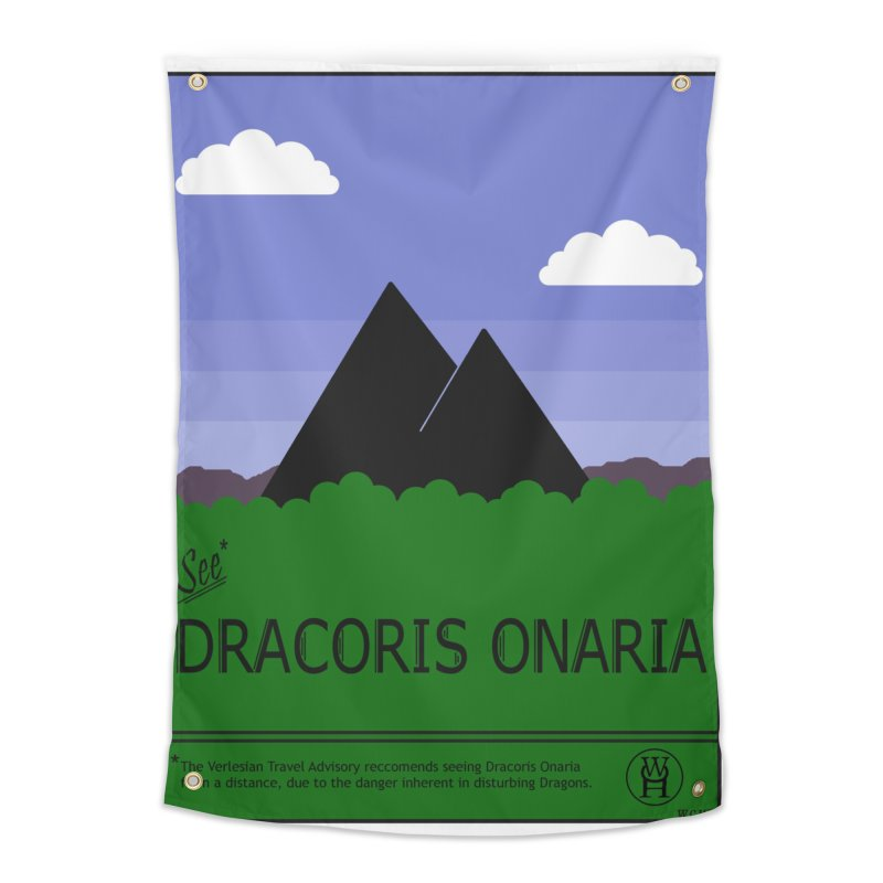 Travel Poster: Dracoris Onaria Home Tapestry by wchwriter's Artist Shop