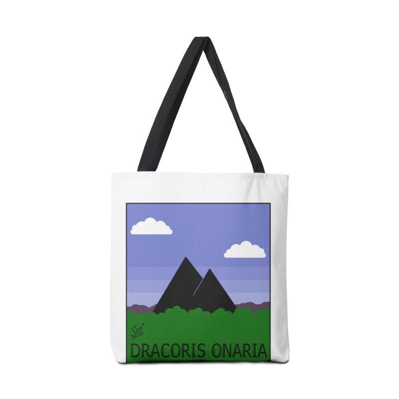 Travel Poster: Dracoris Onaria Accessories Bag by wchwriter's Artist Shop