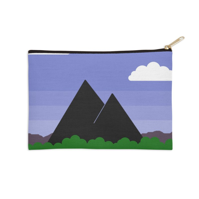 Travel Poster: Dracoris Onaria Accessories Zip Pouch by wchwriter's Artist Shop