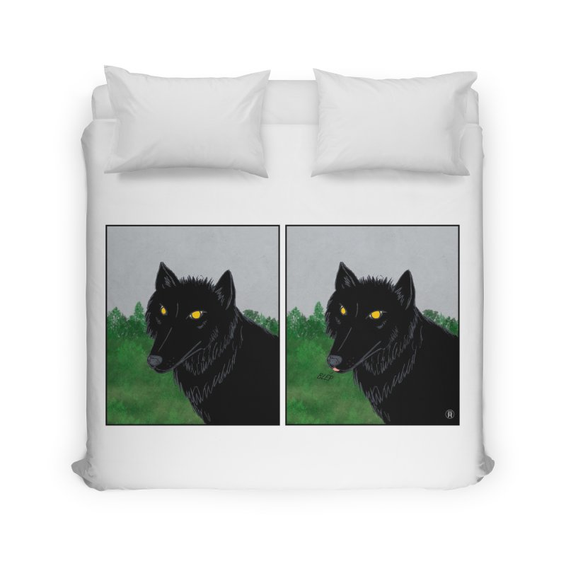 Blep Home Duvet by wchwriter's Artist Shop