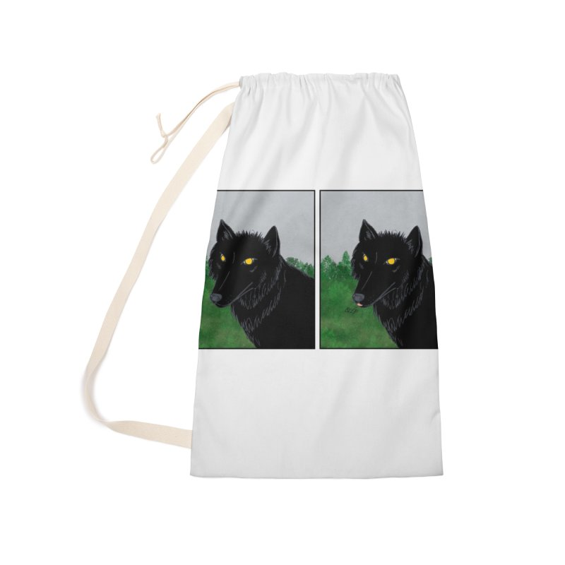 Blep Accessories Laundry Bag Bag by wchwriter's Artist Shop