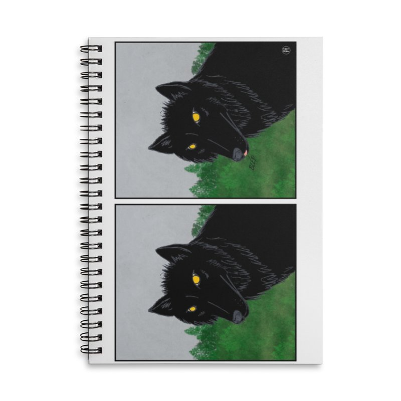 Blep Accessories Lined Spiral Notebook by wchwriter's Artist Shop