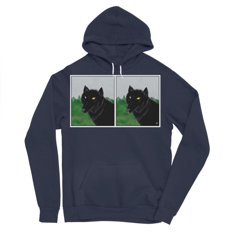 Blep Men's Sponge Fleece Pullover Hoody by wchwriter's Artist Shop