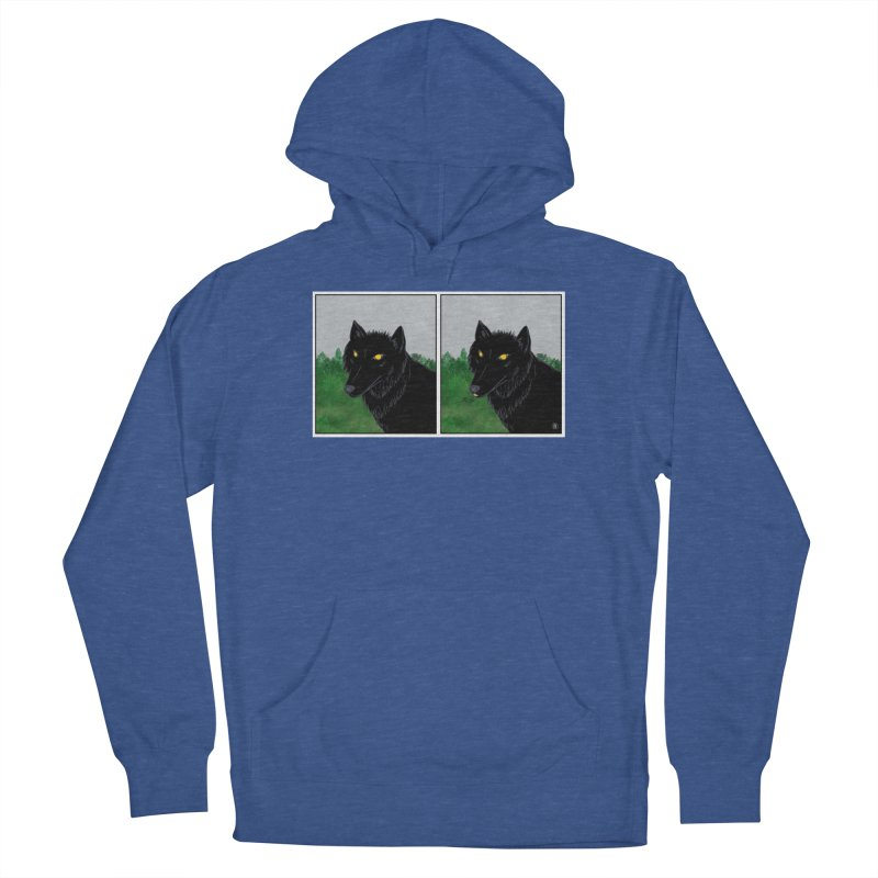 Blep Men's French Terry Pullover Hoody by wchwriter's Artist Shop