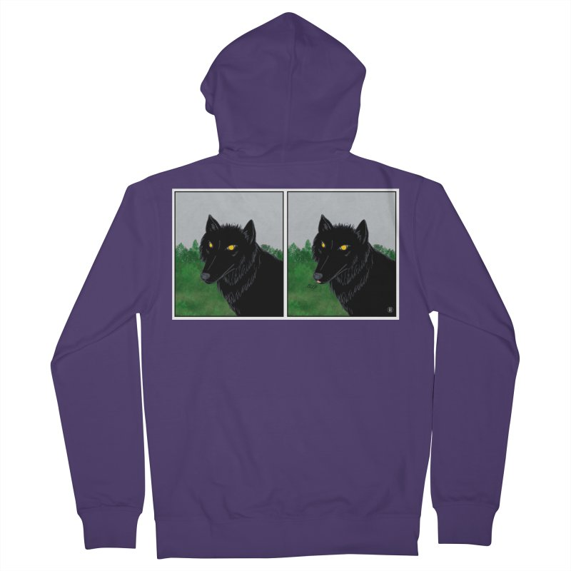Blep Women's French Terry Zip-Up Hoody by wchwriter's Artist Shop