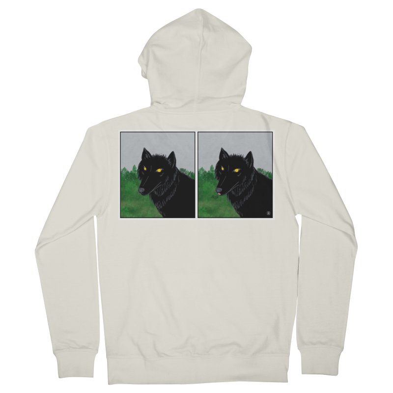 Blep Men's French Terry Zip-Up Hoody by wchwriter's Artist Shop