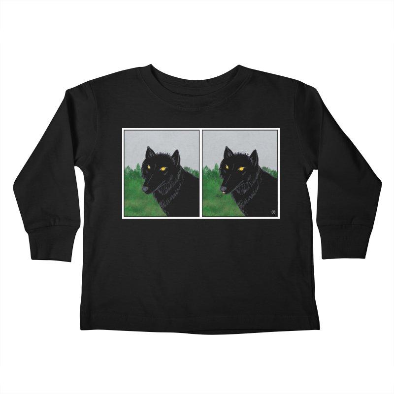 Blep Kids Toddler Longsleeve T-Shirt by wchwriter's Artist Shop