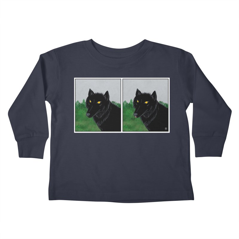 Blep Kids Toddler Longsleeve T-Shirt by wchwriter's Artist Shop