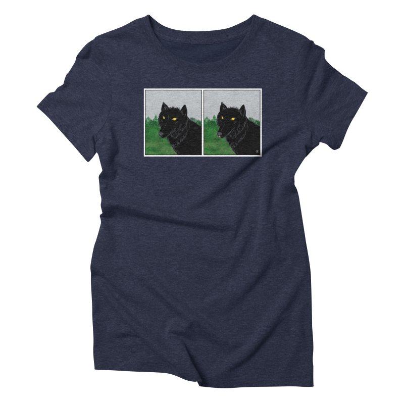 Blep Women's Triblend T-Shirt by wchwriter's Artist Shop