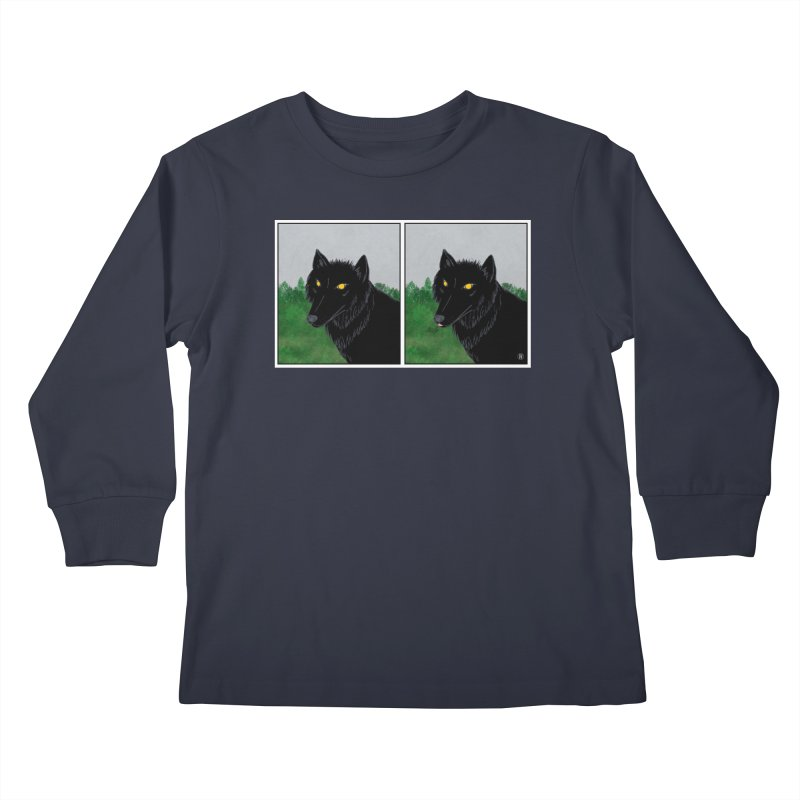 Blep Kids Longsleeve T-Shirt by wchwriter's Artist Shop