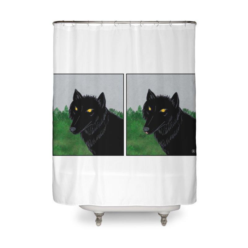 Blep Home Shower Curtain by wchwriter's Artist Shop