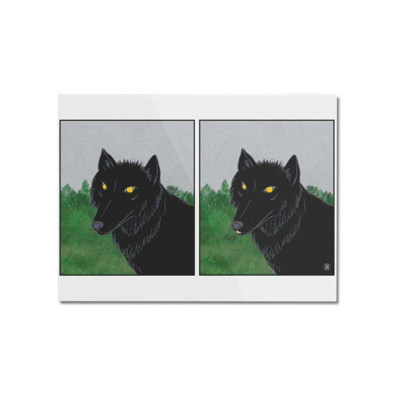 Blep Home Mounted Acrylic Print by wchwriter's Artist Shop
