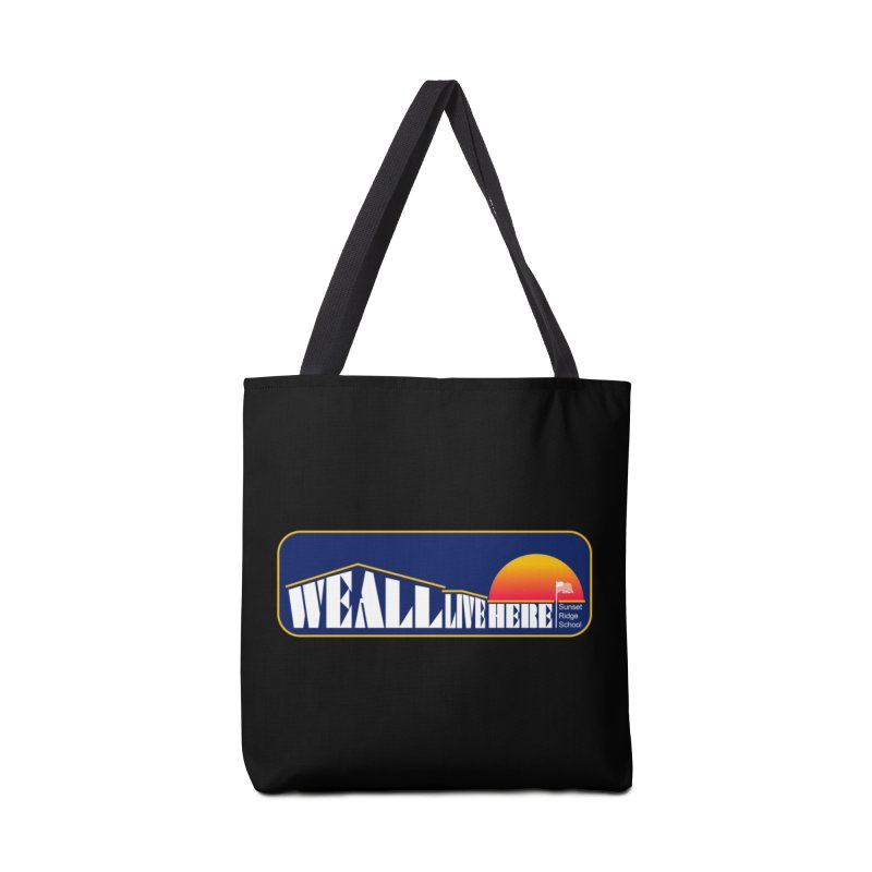 WALH Sunset Ridge Accessories Tote Bag Bag by we all live here