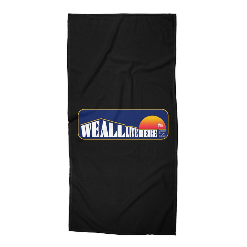 WALH Sunset Ridge Accessories Beach Towel by we all live here