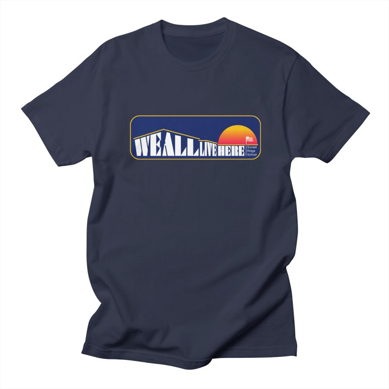WALH Sunset Ridge Men's T-Shirt by we all live here