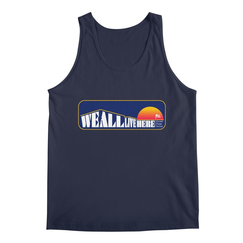 WALH Sunset Ridge Men's Regular Tank by we all live here