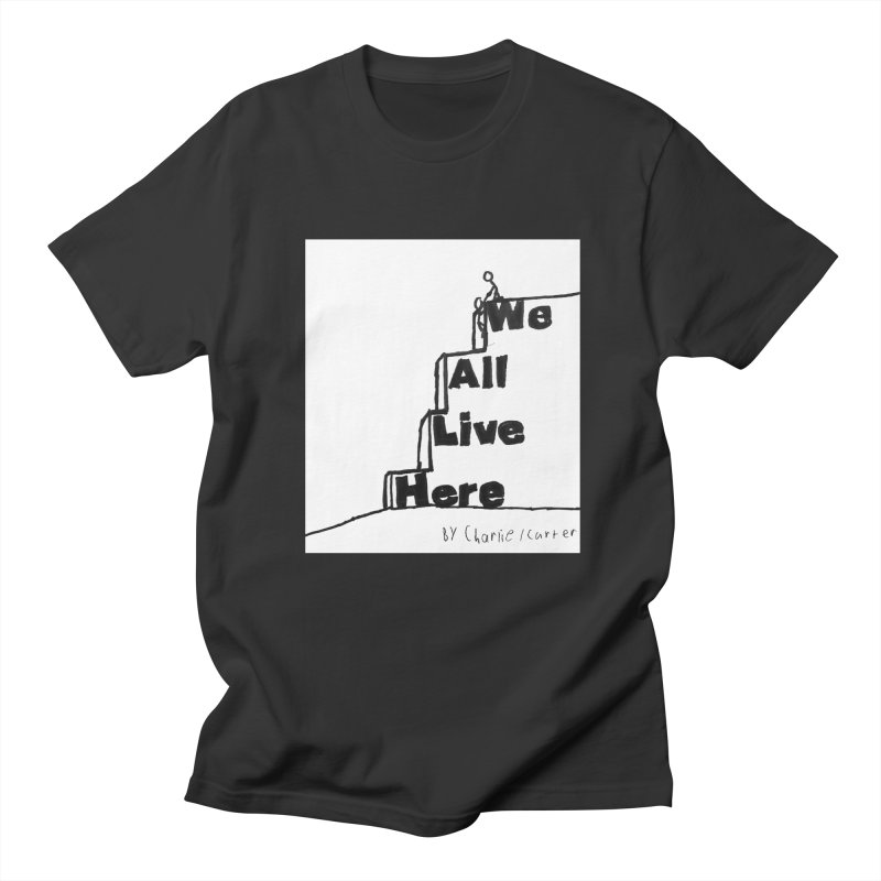 Charlie Carter Design Men's Regular T-Shirt by we all live here