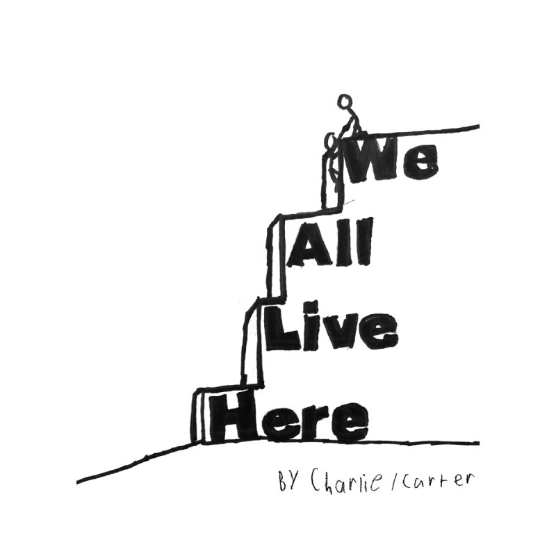 Charlie Carter Design White by we all live here