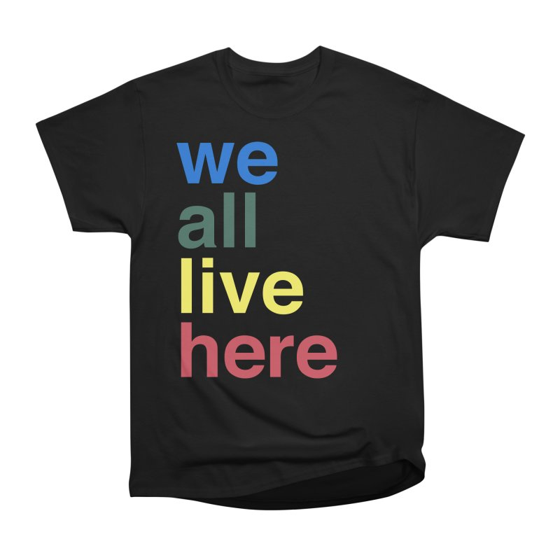 Stacked Women's T-Shirt by we all live here
