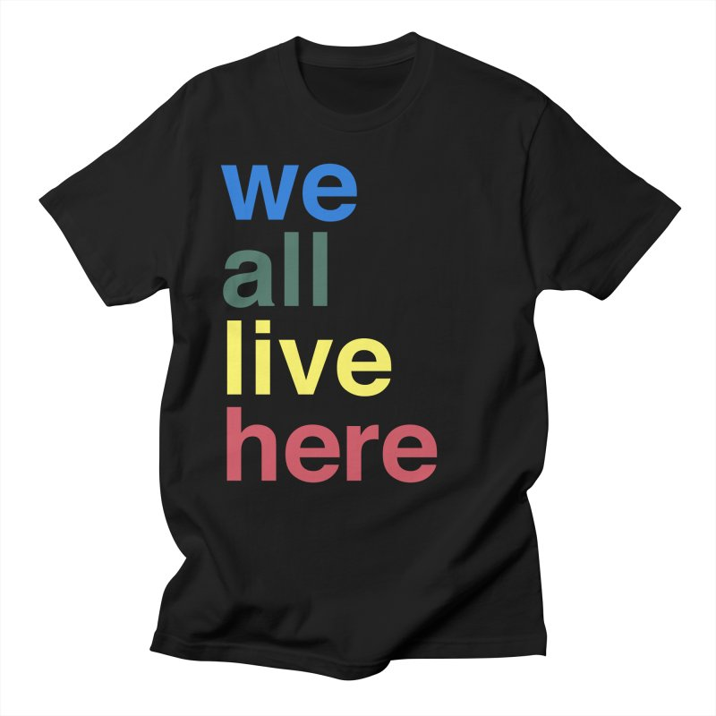 Stacked Men's Regular T-Shirt by we all live here