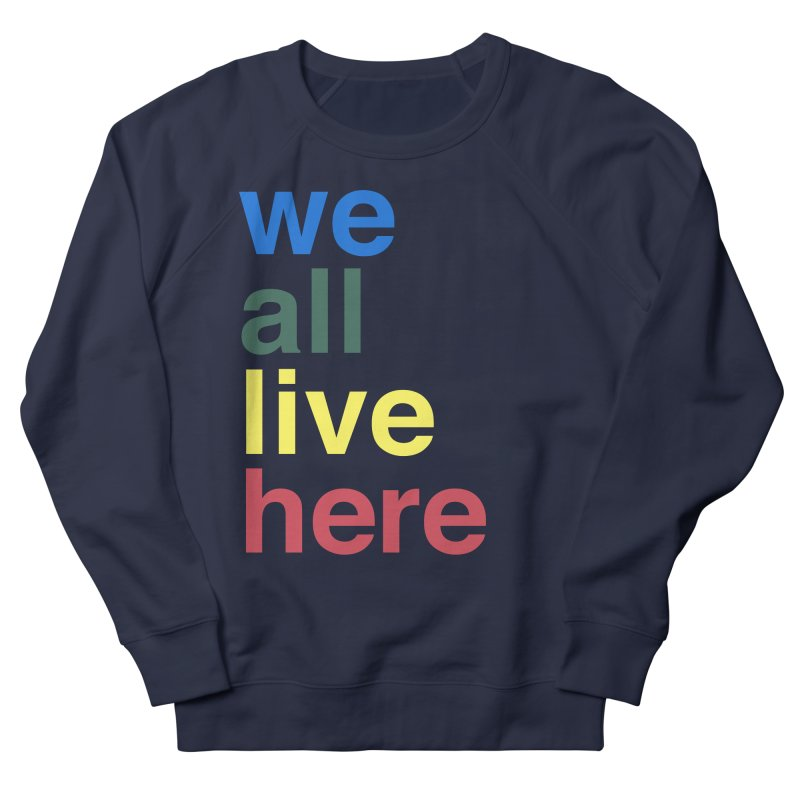 Stacked Men's Sweatshirt by we all live here