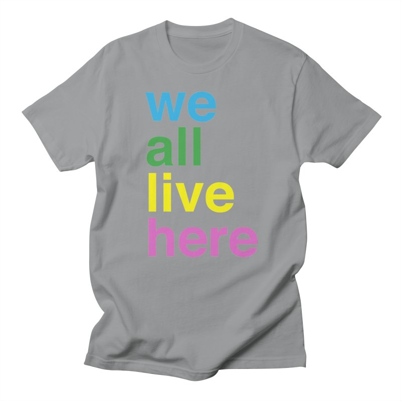 Stacked Light Women's Regular Unisex T-Shirt by we all live here
