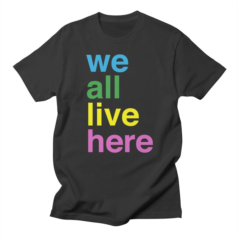 Stacked Light Women's T-Shirt by we all live here