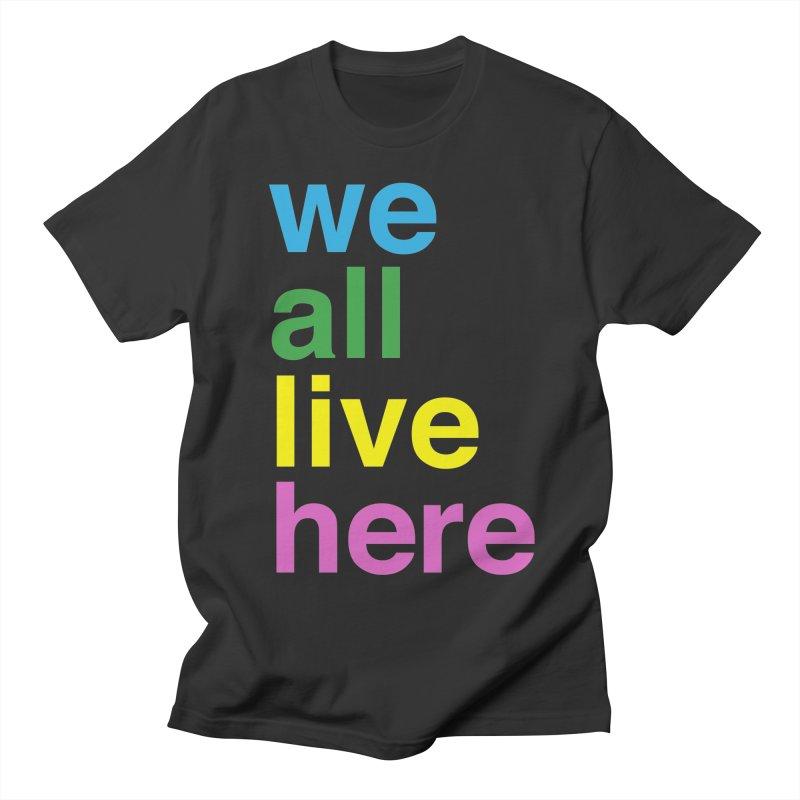 Stacked Light Women's Regular Unisex T-Shirt by we all live here