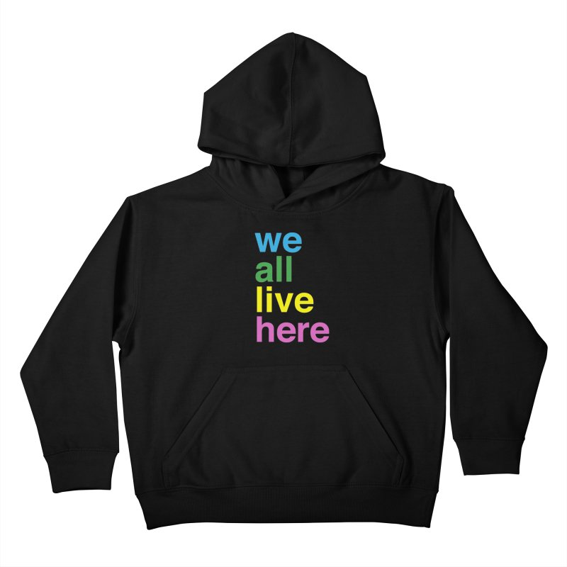 Stacked Light Kids Pullover Hoody by we all live here