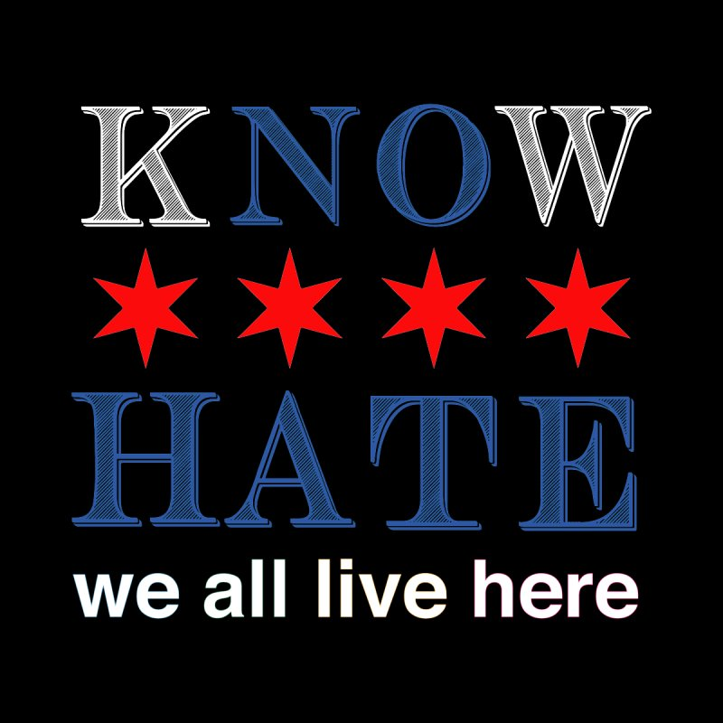 Know No Hate by we all live here
