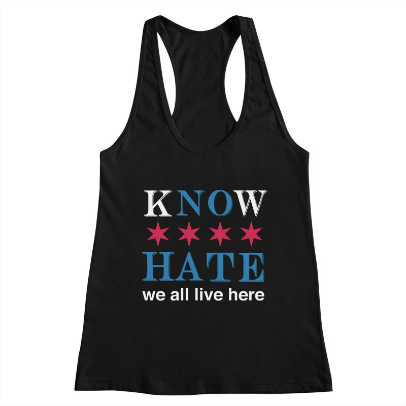 Know No Hate Women's Tank by we all live here