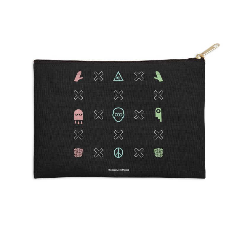 Dispose x multiply (clr) Accessories Zip Pouch by WeandJeeb's Artist Shop