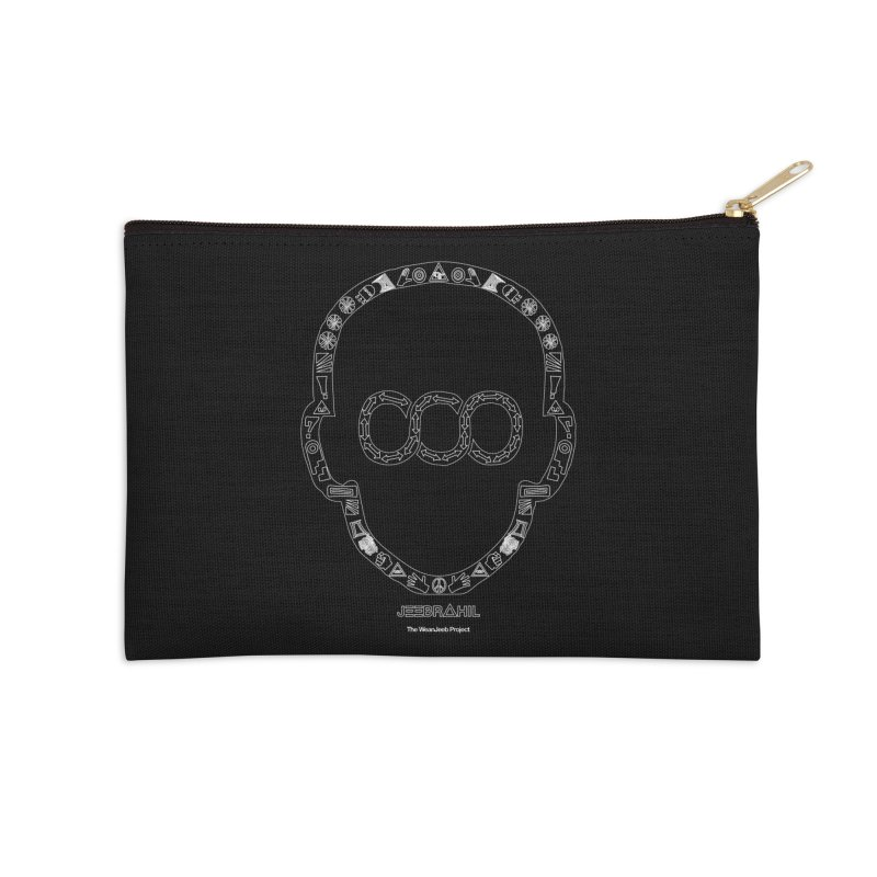 Signs x head Accessories Zip Pouch by WeandJeeb's Artist Shop