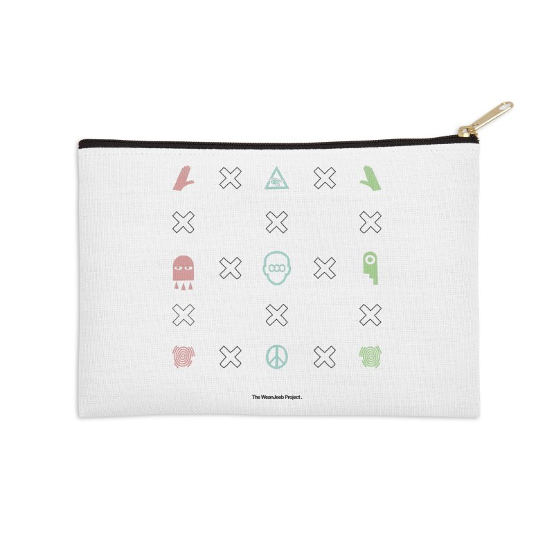 Dispose x multiply (clr-b) Accessories Zip Pouch by WeandJeeb's Artist Shop